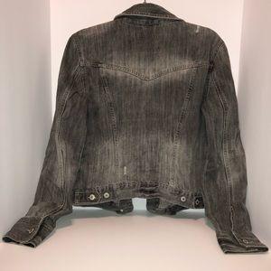 Aeropostale Jackets & Coats - Aeropostale Charcoal Denim Jacket